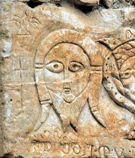 santo-mandylion-xiii-sec-pietra-calcarea-incisa-monte-sant-angelo-museo-tancredi-gic3a0-al-castello-da-l-angelo-la-montagna-il-pellegrino-foggia-1999