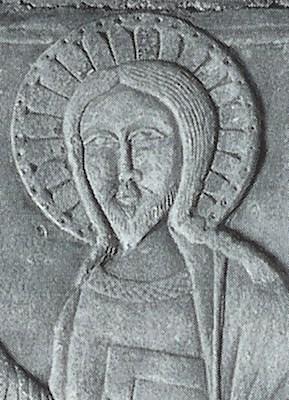 santo-pellegrino-bassorilievo-xiii-sec-particolare-monte-sant-angelo-basilica-grotta-di-s-michele-cava-delle-pietre-da-l-angelo-la-montagna-il-pellegrino-foggia-1999-1