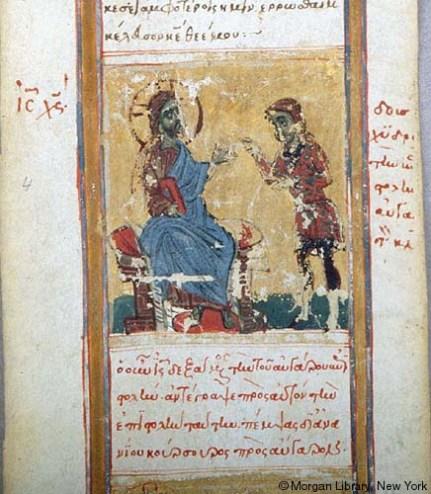 3.Cristo riceve lettera di Abgar