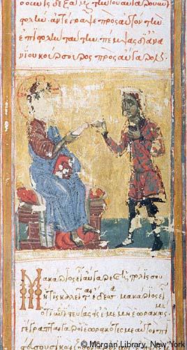 4.Cristo dà la sua lettera