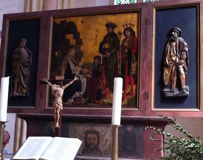 Steinkirchen Altar