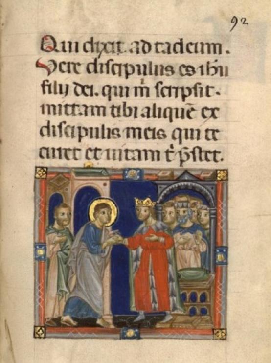 Tobia e Taddeo da re Abgar