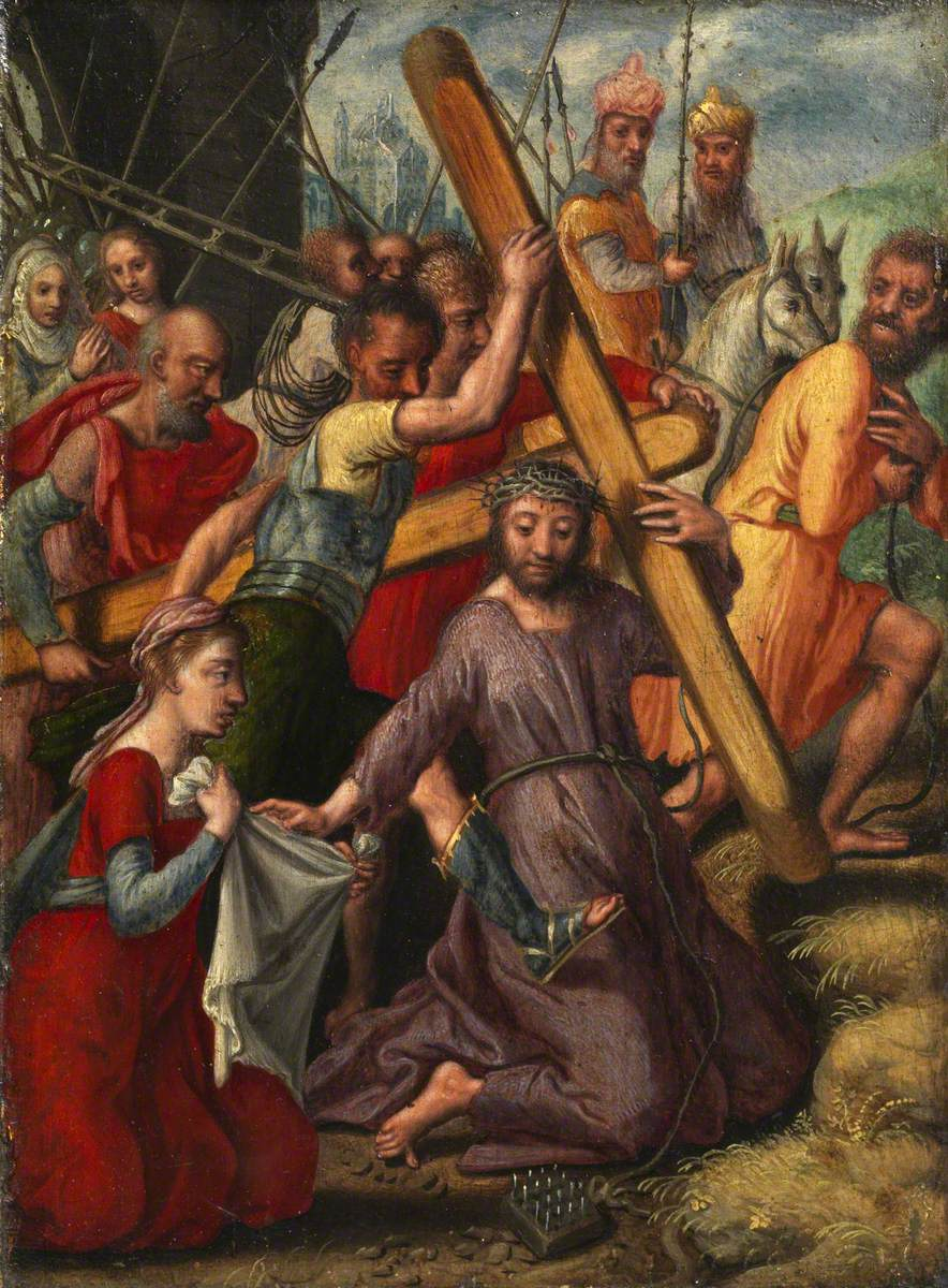 Aertsen, Pieter, 1507/1508-1575; Christ Bearing the Cross